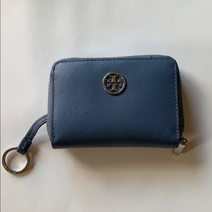 Tory Burch small leather wallet with key ring